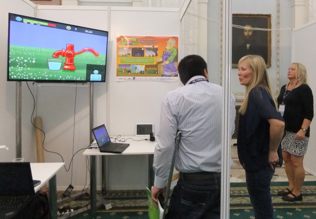 From our stand at the AAL forum 2014 in Bucharest